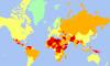 Libya, Suriye, Irak ve Afganistan listenin başında