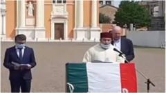 İtalya'da Kur'an-ı Kerim okundu