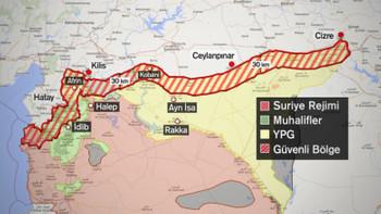 """Suriye'deki """"Güvenli Bölge"""" tartışmaları"""