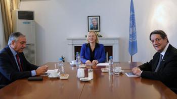 BM, KKTC ve GKRY liderlerini bir araya getirdi