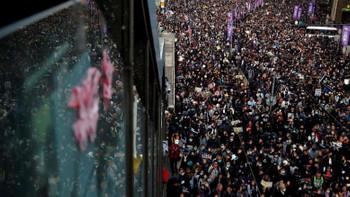 Hong Kong'ta Doğu Türkistan çıkışı
