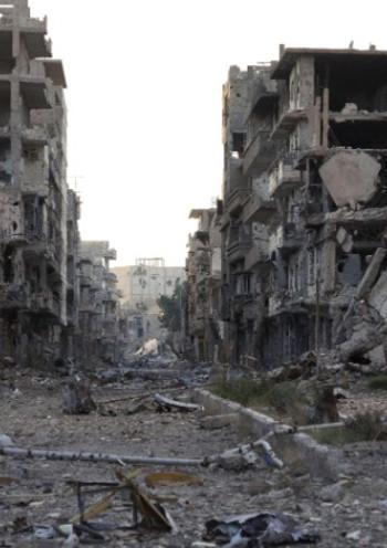 Savaş sonrası Suriye rejimi