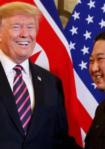 Trump ile Kim yine aynı masada