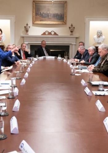 Beyaz Saray'da 'gergin' Suriye toplantısı