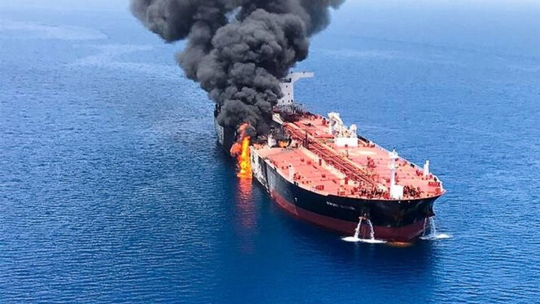 Umman Denizi'nde tehlikeli provokasyon