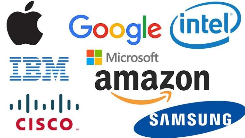 Teknoloji devlerinin logosundaki mesajlar