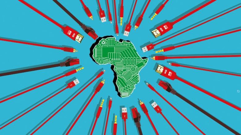 Teknoloji şirketlerinin yeni hedefi Afrika mı ?