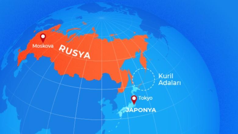 Rusya ve Japonya arasındaki adalar krizi