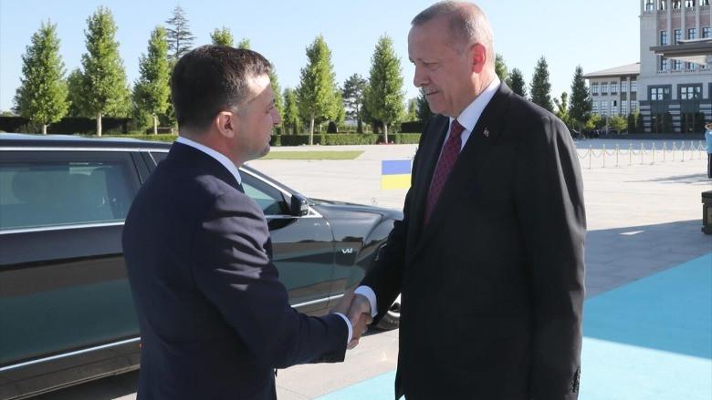 Ukrayna Devlet Başkanı Zelenskiy Ankara'da