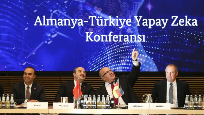 """Türkiye ve Almanya'dan """"yapay zeka"""" ortaklığı"""
