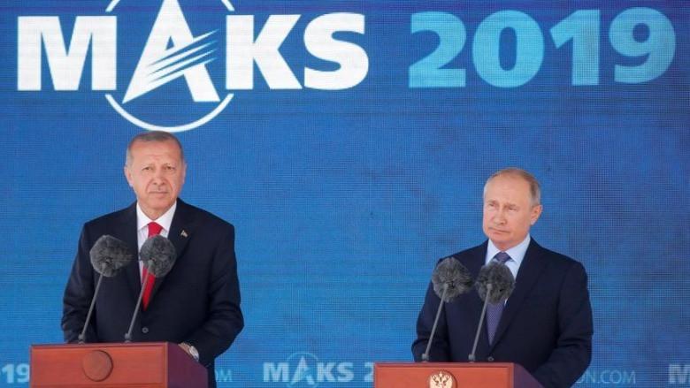 Erdoğan Rusya'da
