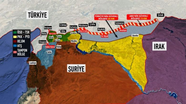 Türkiye'nin Fırat'ın doğusundaki operasyon planı