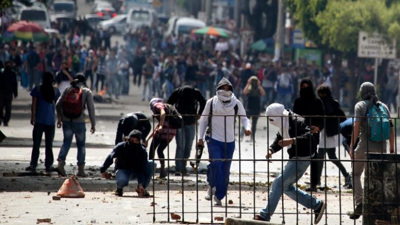 Protesto dalgasının son durağı: Kolombiya