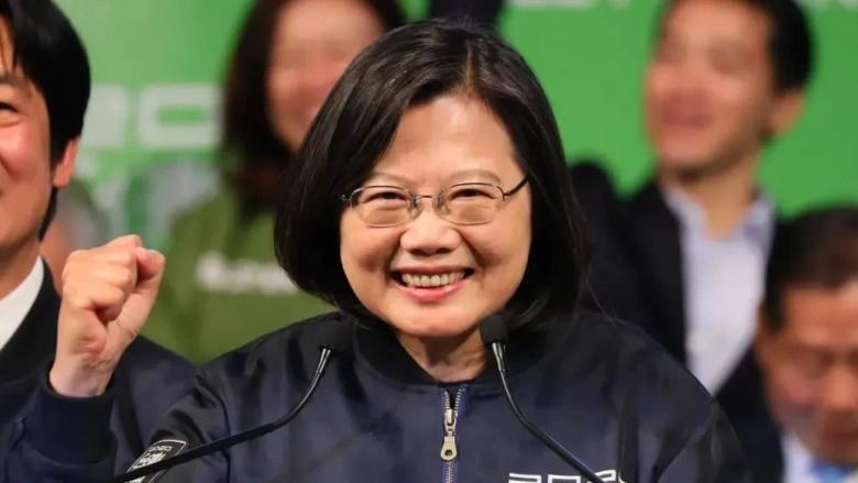 Tayvan'da seçimi Tsai Ing-wen kazandı