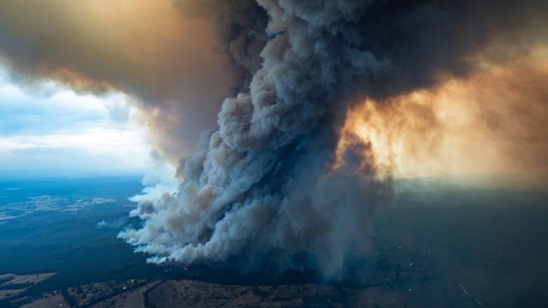 Avustralya yangınından çıkan duman dünyayı saracak
